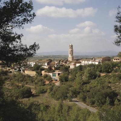 Vista de la localitat i paisatge rural  (Miguel Raurich)