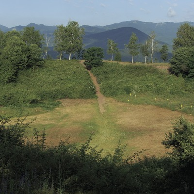 Crater of the Montsacopa volcano in La Garrotxa Volcanic Area Natural Park.  (José Luis Rodríguez)