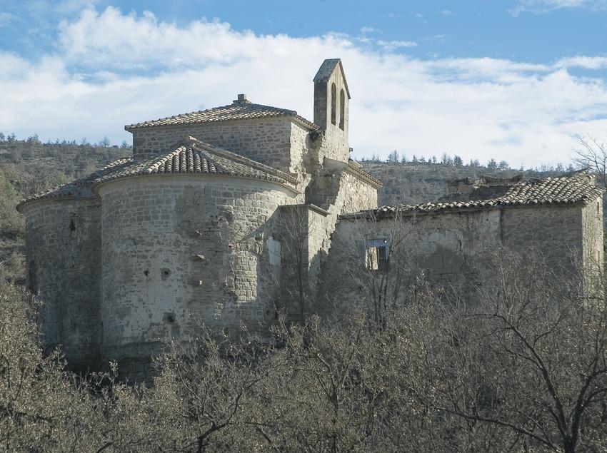 Church of Cellers monastery  (Servicios Editoriales Georama)