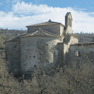 Church of Cellers monastery  (Servicios Editoriales Georama)