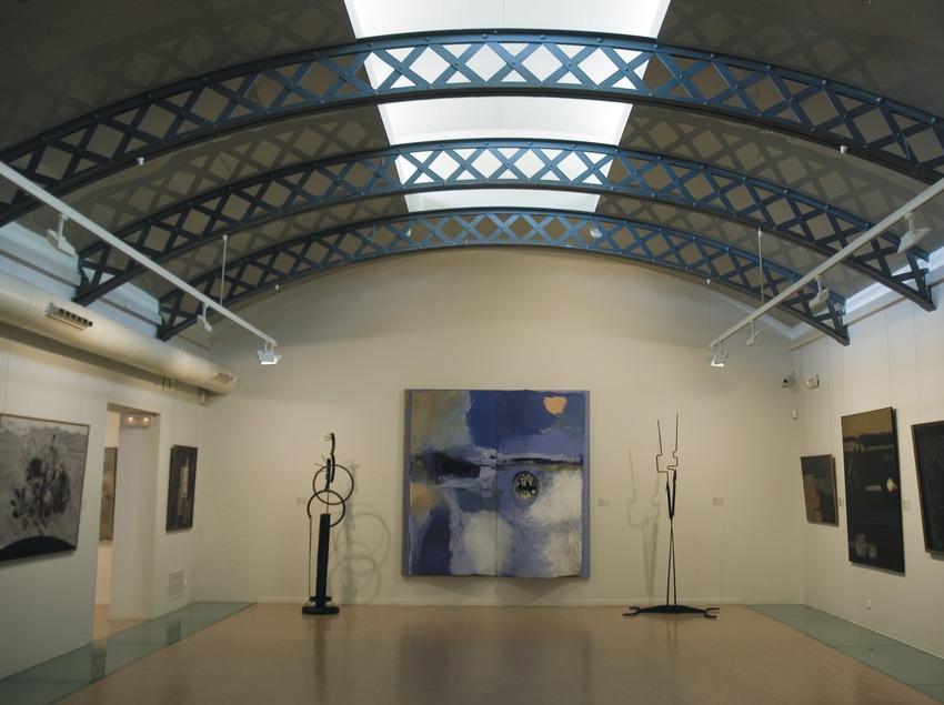 Sala de pintura catalana a la Biblioteca-Museu Víctor Balaguer  (Servicios Editoriales Georama)