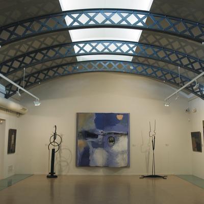 Sala de pintura catalana en la Biblioteca-Museo Víctor Balaguer  (Servicios Editoriales Georama)