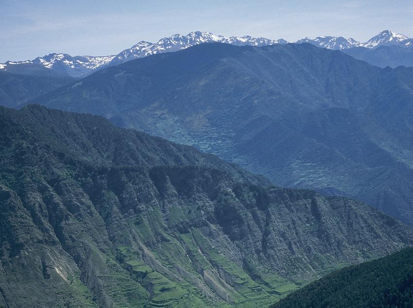 Valle del río Escrita en el Parque Nacional de Aigüestortes i Estany de Sant Maurici.  (Servicios Editoriales Georama)