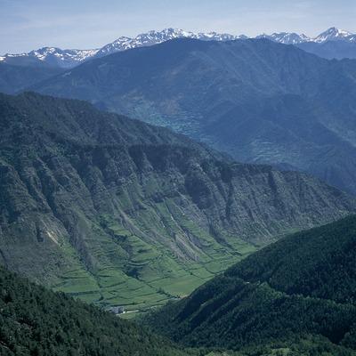 Vall del riu Escrita al Parc Nacional d'Aigüestortes i Estany de Sant Maurici  (Servicios Editoriales Georama)
