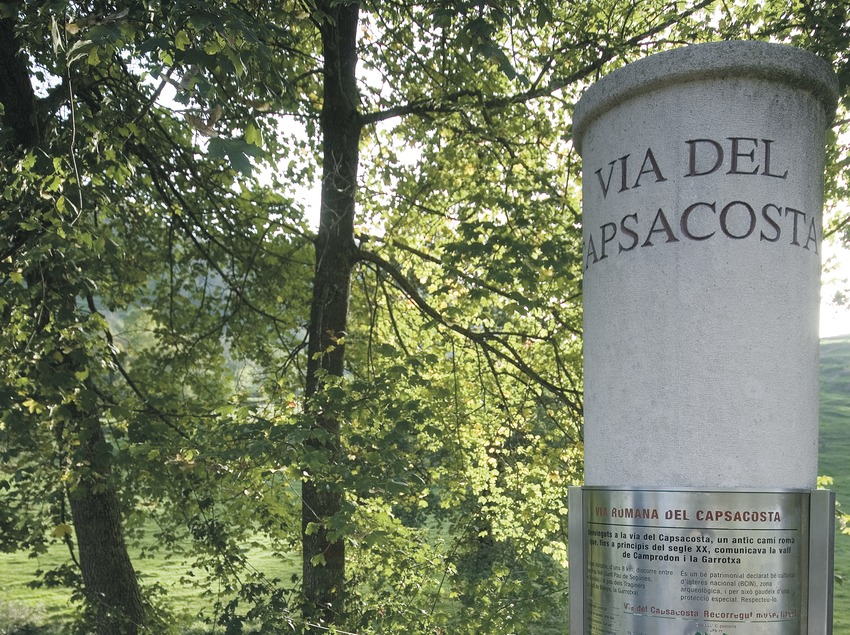 Roman road of Capsacosta  (Servicios Editoriales Georama)
