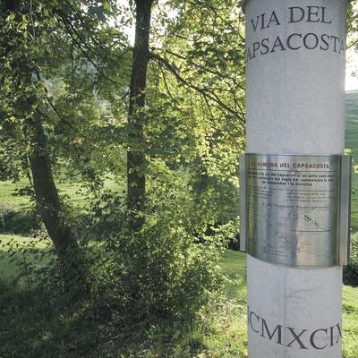 Via romana de Capsacosta  (Servicios Editoriales Georama)