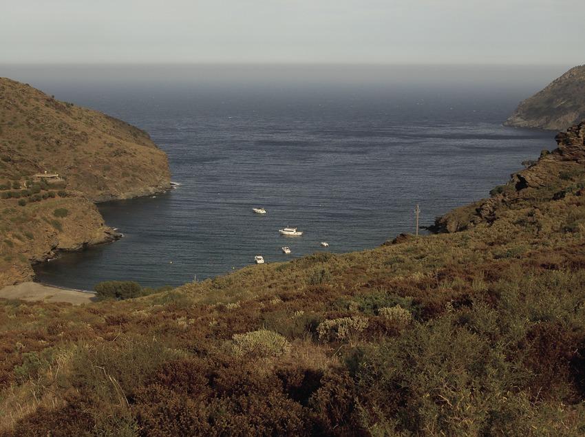 Cala Jóncols en el Parque Natural del Cap de Creus.