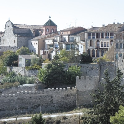 Partial view with walls in the foreground  (Servicios Editoriales Georama)