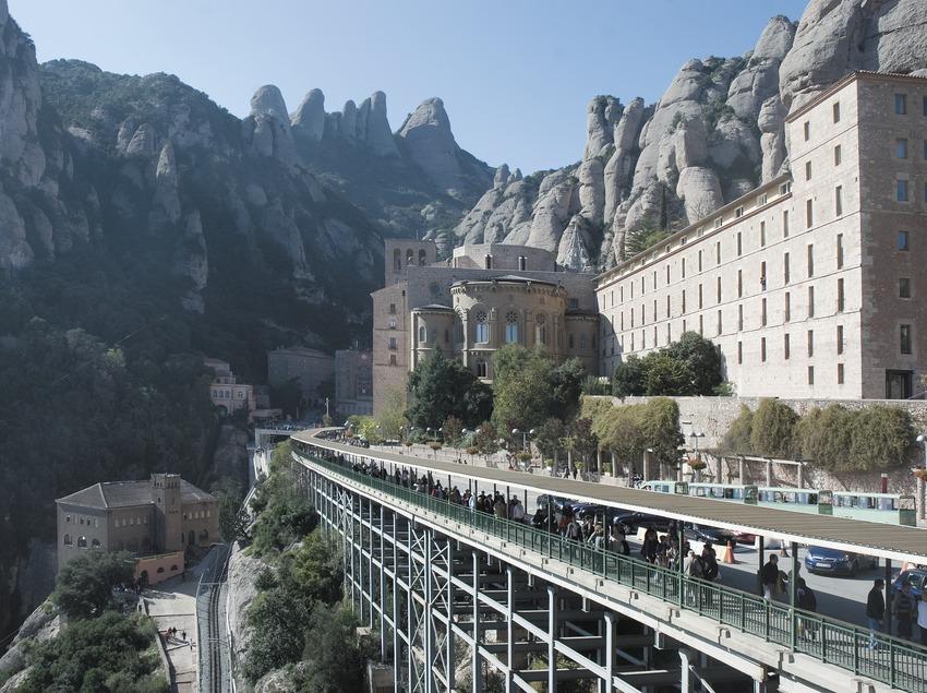 Das Kloster Montserrat.  (Servicios Editoriales Georama)