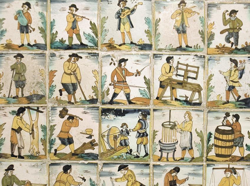 Catalan ceramics in the Museu del Blat i la Pagesia (Wheat and Peasantry Museum)  (Servicios Editoriales Georama)