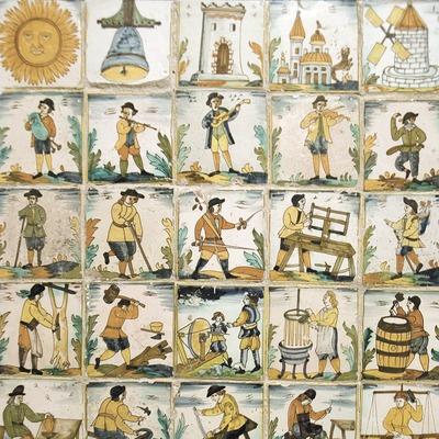 Cerámica catalana en el Museo del Trigo y el Campesinado  (Servicios Editoriales Georama)