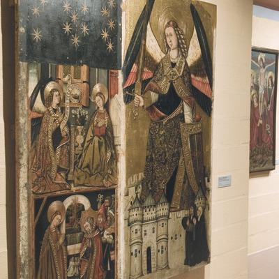 Taula de pintura gòtica. Casa Museu Duran i Sanpere-Museu Comarcal de Cervera  (Servicios Editoriales Georama)