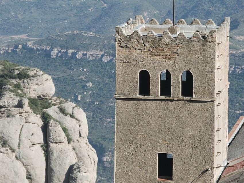 Casa del teleférico de Montserrat  (Servicios Editoriales Georama)