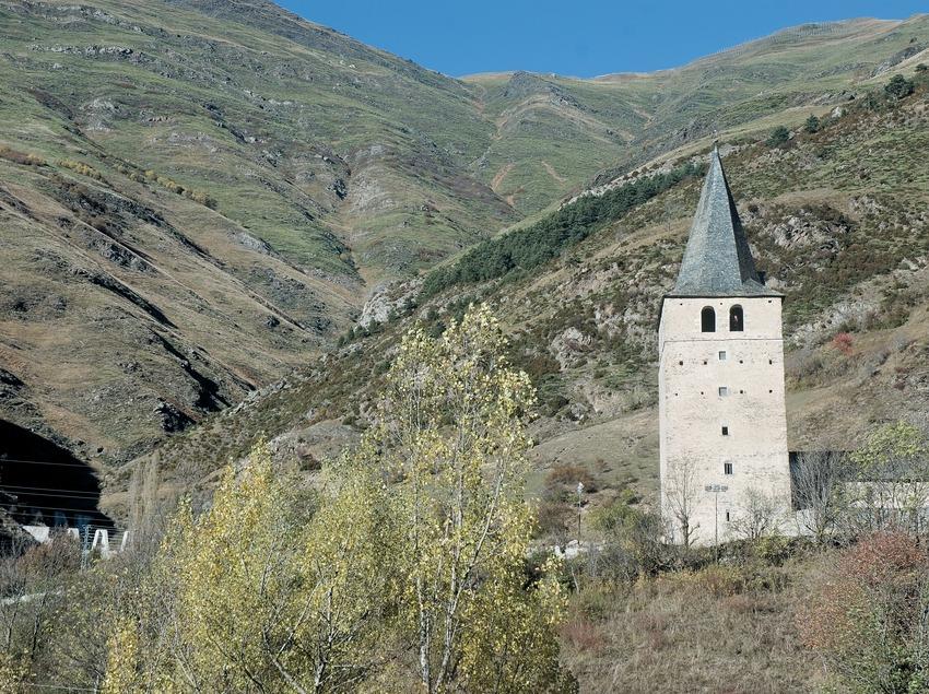 Die Kirche Sant Andreu de Casau