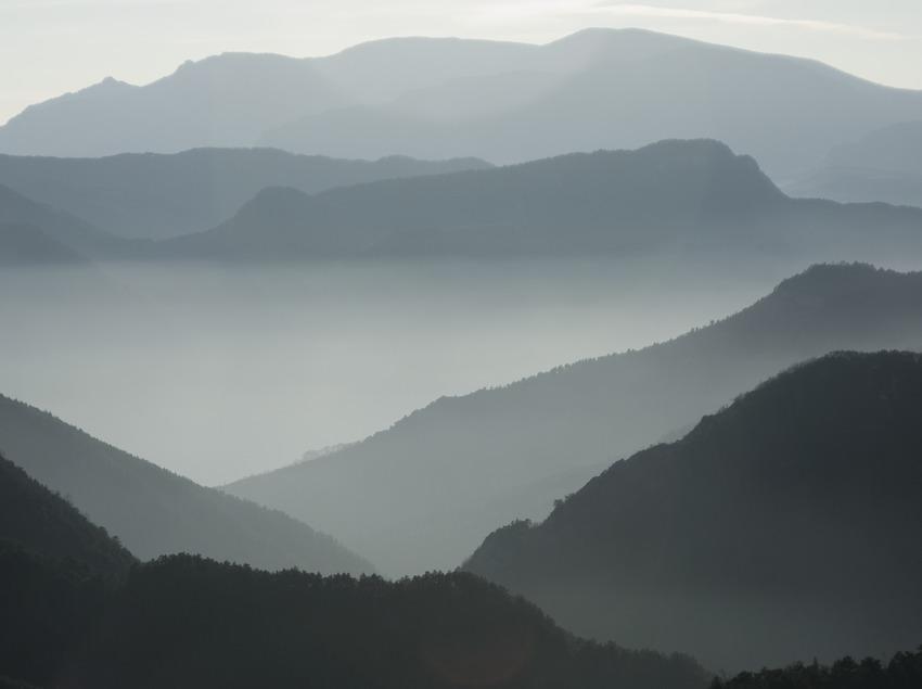 Contrafuertes de la Sierra del Cadí y la Sierra de Ensija  (Servicios Editoriales Georama)