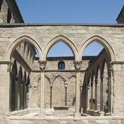 Claustre de la Col·legiata de Sant Vicenç de Cardona  (Servicios Editoriales Georama)