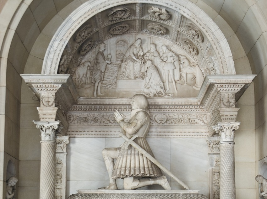 Mausoleo de Joan d'Aragó  (Servicios Editoriales Georama)