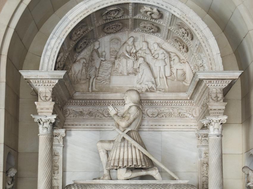 Mausoleu de Joan d'Aragó. Monestir de Montserral  (Servicios Editoriales Georama)