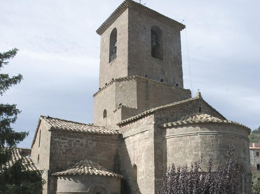 Església del monestir de Santa Maria de l'Estany  (Servicios Editoriales Georama)