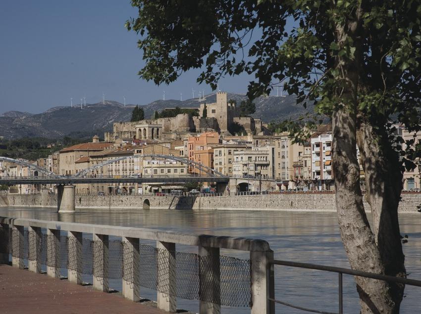 El río Ebro a su paso por la ciudad  (Miguel Raurich)