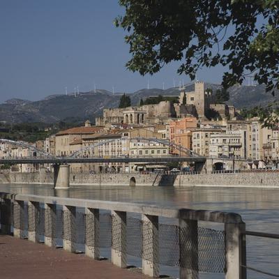 El riu Ebre al seu pas per la ciutat  (Miguel Raurich)