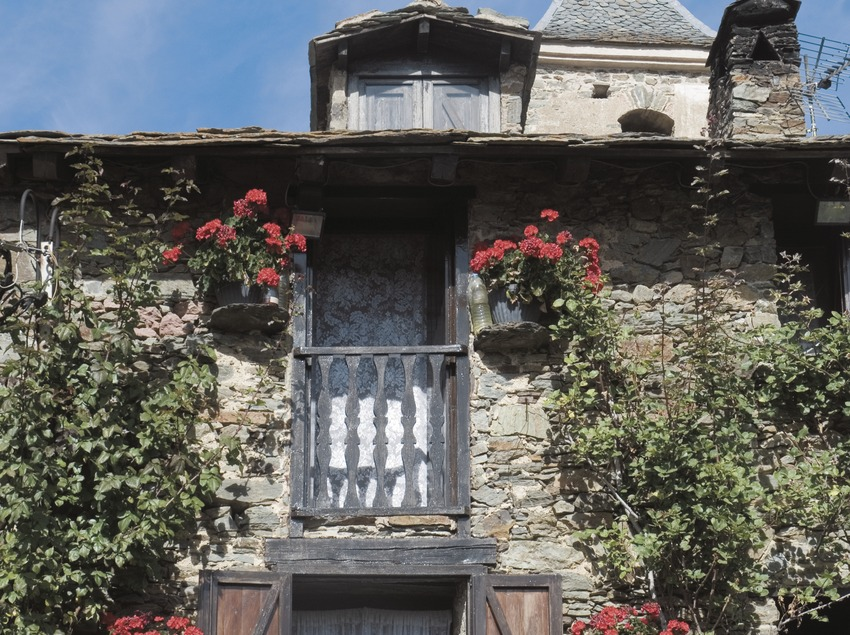 Traditional architecture of the Pyrenees.