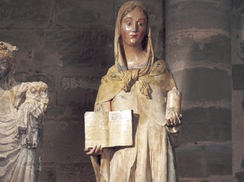 Maria Magdalena (segle XIV). Bartomeu de Robió. Museu de Lleida Diocesà i Comarcal.  (Imagen M.A.S.)