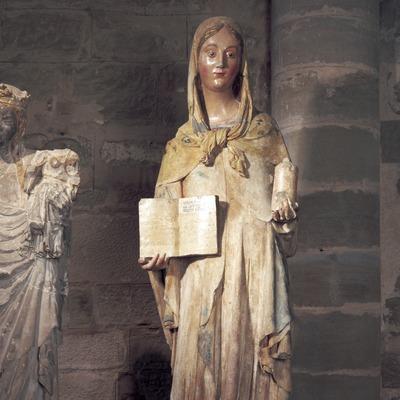 María Magdalena (siglo XIV). Bartomeu de Robió. Museo Diocesano y Comarcal de Lleida.  (Imagen M.A.S.)