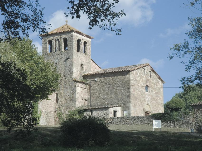 Die Kirche Sant Salvador de Bianya