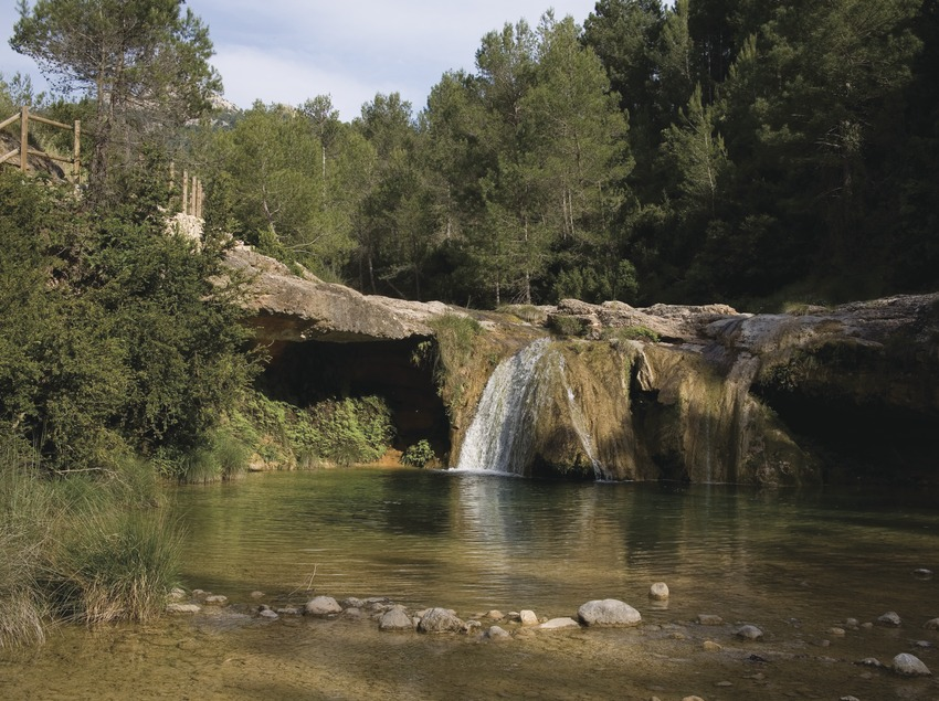 Toll del Vidre in the pass of Tortosa-Beseit