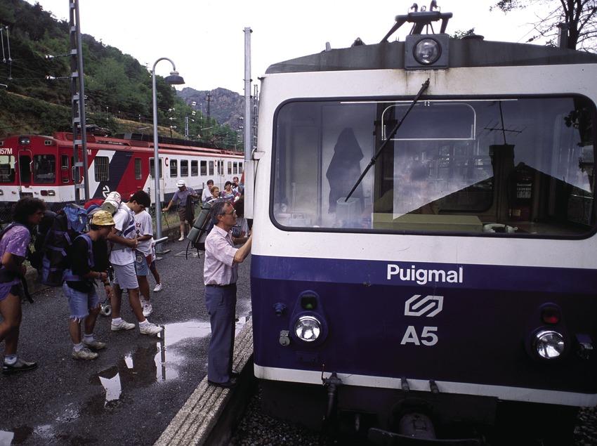 Estación del Cremallera de Núria.  (José Luis Rodríguez)