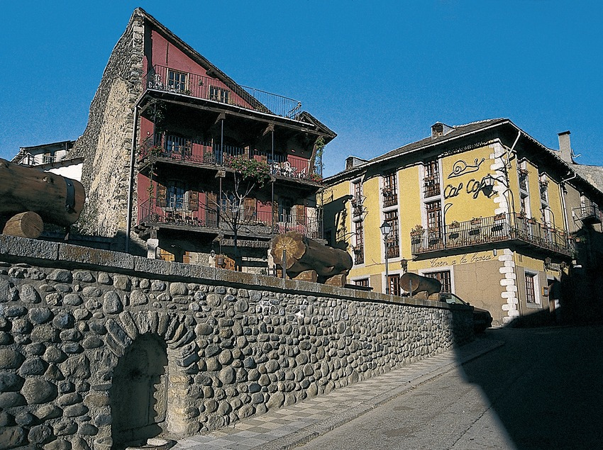 Arquitectura popular del centre històric  (Servicios Editoriales Georama)