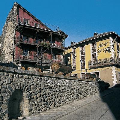 Arquitectura popular del centro histórico  (Servicios Editoriales Georama)
