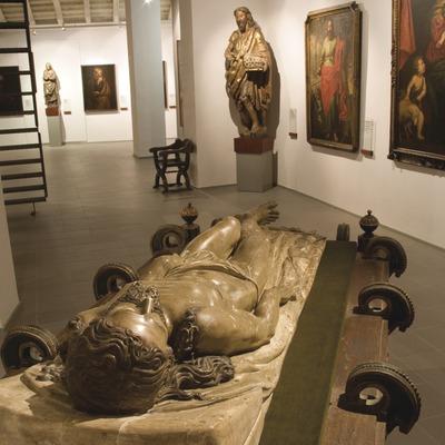 Sala de arte religioso medieval en el Museo de Frederic Marès  (Miguel Raurich)