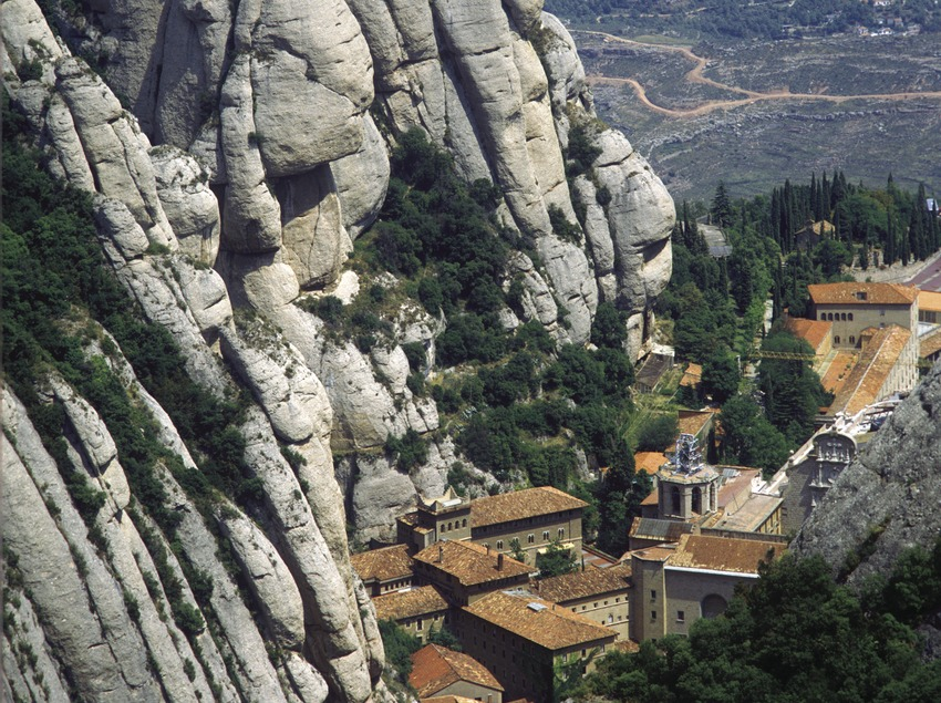 Monestir de Montserrat.