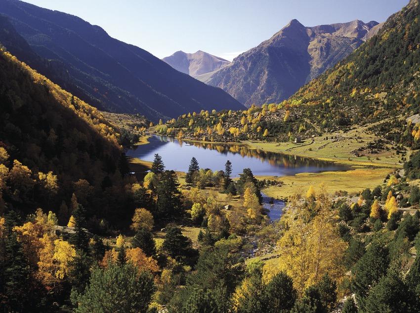 Lago Llebreta, en el Parque Nacional de Aigüestortes i Estany de Sant Maurici.  (José Luis Rodríguez)