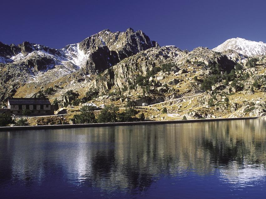Estany Gran d'Amitges al Parc Nacional d'Aigüestortes i Estany de Sant Maurici.  (José Luis Rodríguez)
