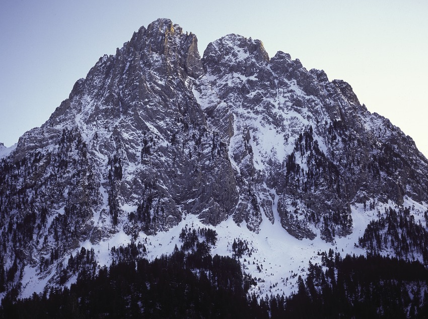 Peak of Els Encantats in the Aigüestortes i Estany de Sant Maurici National Park.  (José Luis Rodríguez)