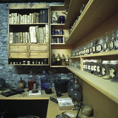 Antiga farmàcia al Museu Municipal  (José Luis Rodríguez)