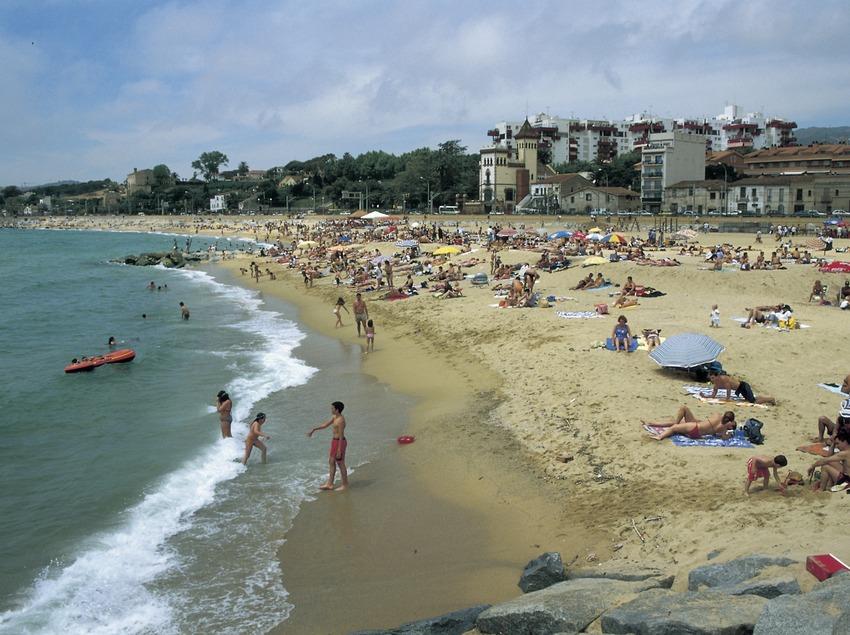 Alella beach.  (Turismo Verde S.L.)