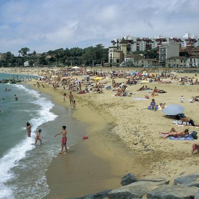 Playa de Alella.  (Turismo Verde S.L.)