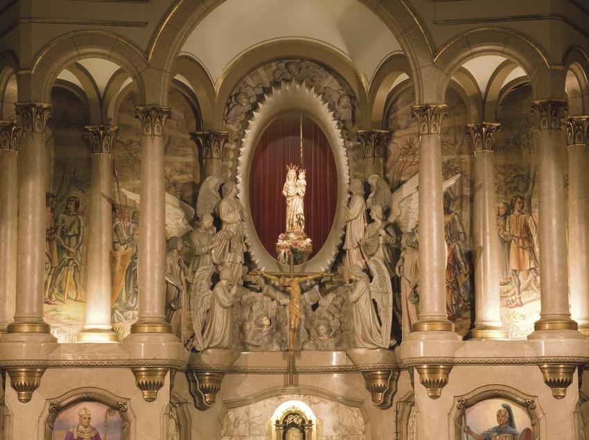 Retablo del santuario de la Mare de Déu del Lledó  (Miguel Raurich)