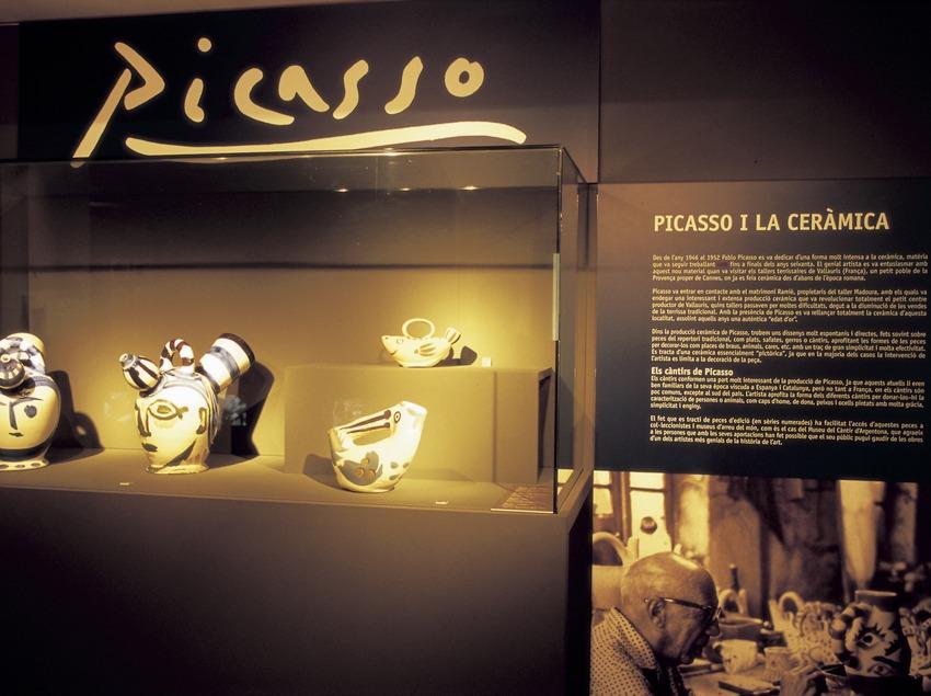Espai Picasso al Museu del Càntir.  (Turismo Verde S.L.)