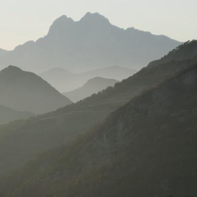 Serralada del Cadí i el Pedraforca, al Parc Natural del Cadí-Moixeró  (Servicios Editoriales Georama)