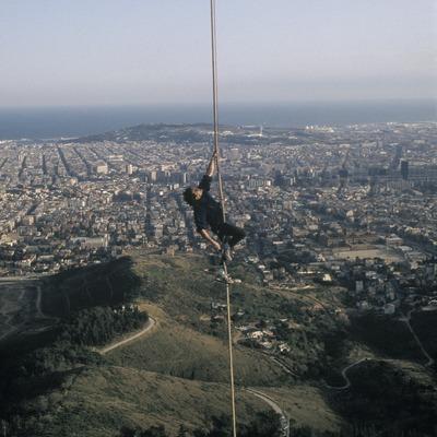 Ascensión a la torre de Collserola.  (Daniel Julián)