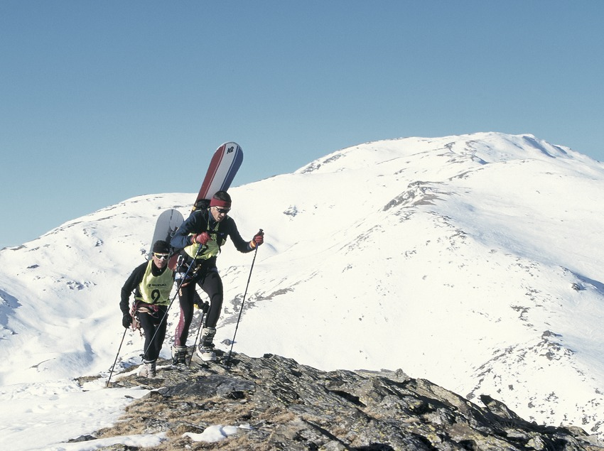 Snowboard free ride.  (Daniel Julián)