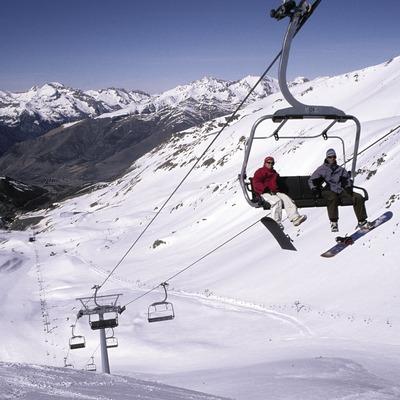 Telecadira a l'estació d'esquí de Boí-Taüll