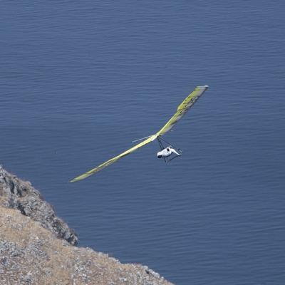 Ala delta al Parc Natural del Cap de Creus  (Daniel Julián)