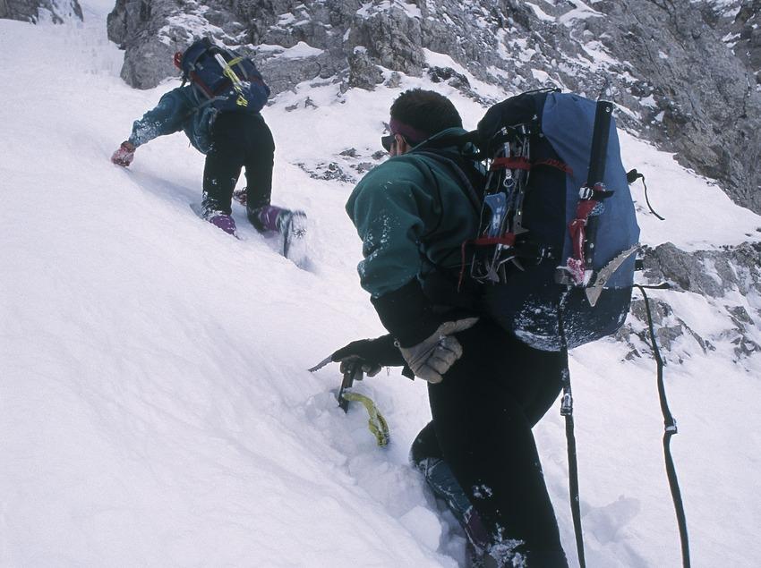 Alpinisme al Parc Natural del Cadí-Moixeró.  (Daniel Julián)
