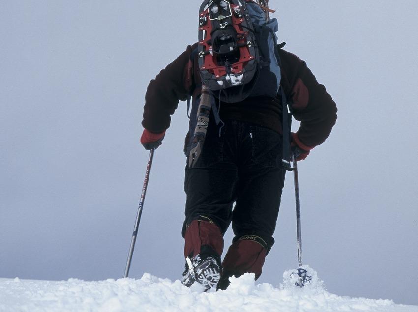 Snowshoeing.  (Daniel Julián)